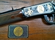 Winchester 1894 limited edition Larry Bird Lever Action .38  Rifles