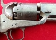 A scarce London Colt model 1851 .36 cal Navy Percussion revolver. Ref 1170   Muzzleloader