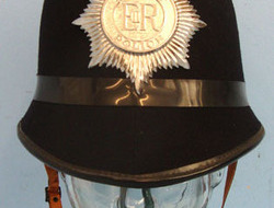 Dorset Police Male Constable\'s / Sergeant\'s Blue Serge Helmet With Helmet Plat Dorset Police Male Constable's / Sergeant's Blue Serge Helmet With Helmet Plate,