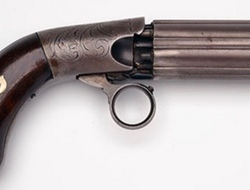 R-C Coopers Patent Pepperbox   Muzzleloader