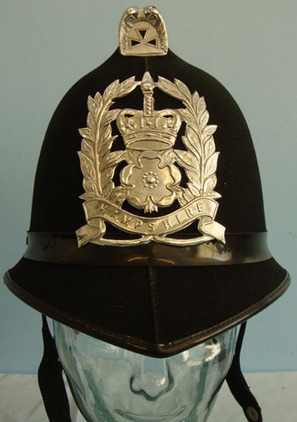 Hampshire Police Male Constable's / Sergeant's Blue Serge Helmet With Hampshire  Hampshire Police Male Constable's / Sergeant's Blue Serge Helmet With Hampshire  Accessories