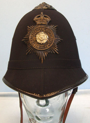 Northhamptonshire Constabulary Male Constable\'s / Sergeant\'s Blue Serge 6 Pane King's Crown Northhamptonshire Constabulary Male Constable's / Sergeant's Blue S Accessories