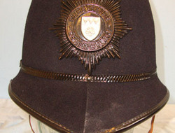 Derbyshire Constabulary Male Constable's/ Sergeant's Blue Serge 2 Panel Police H Derbyshire Constabulary Male Constable's/ Sergeant's Blue Serge 2 Panel Police H
