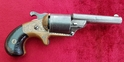 A scarce American Moores Patent front Loading Teat-Fire revolver. Manufactured C. 1870. Ref 9664   Revolver for sale