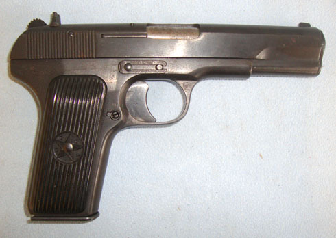 Izhevsk arsenal TT-33 7.62mm Semi Automatic Pistol. Pistol / Hand Guns