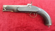 British  military percussion Coastguard pistol. Marked with a Crown over V.R. Ref 9222   Muzzleloader for sale