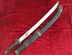 19th century sword from China. Boxer rebellion period. Ref 9349  Swords