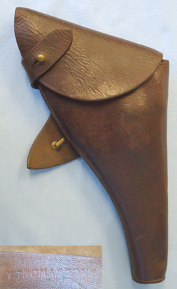 British Sam Browne Holster By T THOMASSON For Webley & Enfield MK VI .455