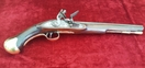 British Military Long Sea-Service Flintlock Officer's Pistol. Circa 1800-1815. Ref 9362   Muzzleloader for sale in United Kingdom