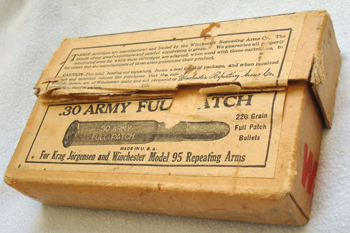DEACTIVATED INERT. Rare 20 Round Unfired Box of .30 Army Full Patch Rounds By Wi DEACTIVATED INERT. Rare 20 Round Unfired Box of .30 Army Full Patch Rounds By Wi Accessories