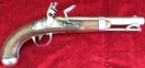 A scarce U.S. Military Flintlock Officers Pistol. Pre-dating the American Civi War marked Milbury MS. 1842 Ref 7887   Muzzleloader for sale in United Kingdom