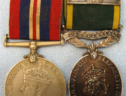 Medal Pair to Trooper J.H. Vent, Royal Tanks. Medal Pair to Trooper J.H. Vent, Royal Tanks.