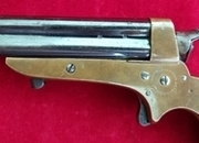 A superb example of a Tipping & Lawden four barrelled rimfire derringer. C. 1865. Ref 2087.   Muzzleloader