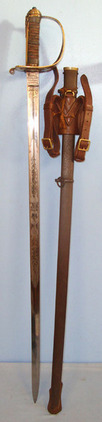 Henry Wilkinson 1889 Pattern Staff Sergeants Sword With Gilt Brass Hilt, Etched Blade By Henry W Blades