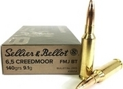 Sellier & Bellot 6.5 Creedmoor Ammunition For Bolt Action 6.5 mm  Rifles