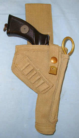 Tanker's Holster For  380 Calibre Enfield Spurless Tanker's