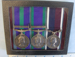 Court Mounted, Group Of 3 X British Medals to X4022596 Cpl M.C. Whitelaw R.A.F. Court Mounted, Group Of 3 X British Medals to X4022596 Cpl M.C. Whitelaw R.A.F.