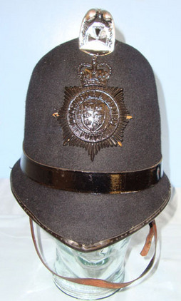 Manchester & Salford Police Male Constable's/ Sergeant's Blue Serge Helmet By Ch Manchester & Salford Police Male Constable's/ Sergeant's Blue Serge Helmet By Ch Accessories