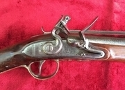 Flintlock coaching Blunderbuss  by P. BOND, Cornhill London. Ref 8990   Muzzle loader