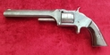 A good American tip up .32 rim-fire revolver made by the world famous Smith & Wesson of Springfield Mass. C. 1870. Ref 9749.   Revolver for sale in United Kingdom
