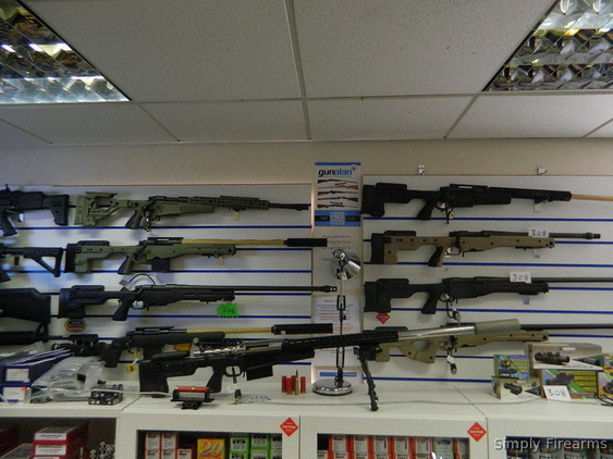 Accuracy International Stocked Remington Rifles Rifles