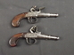 Circa 1750 Cased Pair Of Pocket Pistols    Muzzleloader for sale in United Kingdom