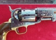 A superb example of a London Colt model 1851 .36 calibre Navy Percussion revolver. Ref 2316   Muzzleloader