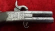 English Double Barrelled Turn-over  Percussion Pistol. Ref 9472   Muzzleloader for sale