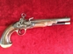 Spanish Miquelet military pistol. Engraved Francesco BORNIO of BARCELONA. Ref 8686   Muzzleloader for sale