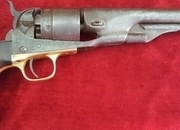 Ref 9212. American Civil War period Colt model 1860 Army 6 shot Percussion Revolver. .44  Muzzle loader