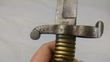 French Model 1842 Yataghan sword bayonet for Artillery Carbine   Bayonets for sale in United Kingdom