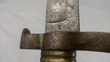 French Model 1842 Yataghan sword bayonet for Artillery Carbine   Bayonets for sale