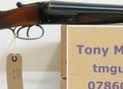 Thomas Turner and Sons Game boxlock non ejector 16 Bore/gauge  Side By Side