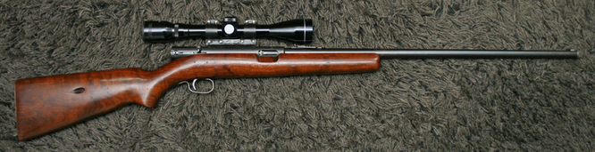 Winchester Model 74 Rifles