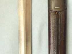 British 1888 Mark II, 2nd pattern, Lee Metford Bayonet, Scabbard And Frog. British 1888 Mark II, 2nd pattern, Lee Metford Bayonet, Scabbard And Frog. Bayonets