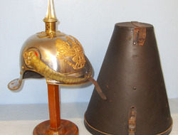 Prussian Cuirassiers Cavalry Officer's Steel & Brass Helmet With Imperial State  Prussian Cuirassiers Cavalry Officer's Steel & Brass Helmet With Imperial State