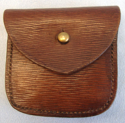 D.R.S.P. 1939 Emergency Pattern Rippled Leather Ammunition Pouch By D.R.S.P. Accessories