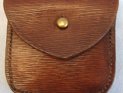 D.R.S.P. 1939 Emergency Pattern Rippled Leather Ammunition Pouch By D.R.S.P.